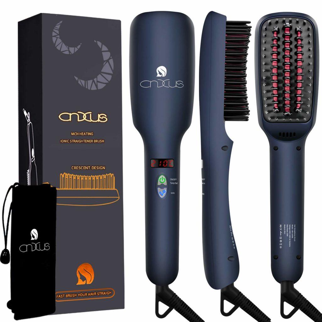 Ionischer Haarglätter Bürste, CNXUS MCH